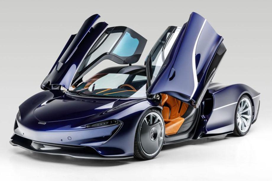 McLaren Speedtail Dark Blue