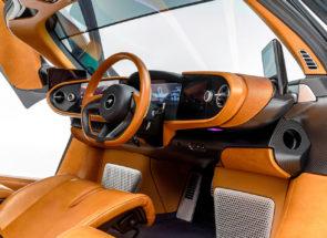 McLaren Speedtail Inside