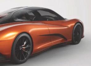 McLaren Speedtail Orange