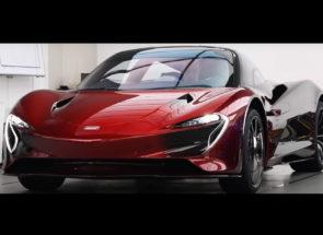 McLaren Speedtail Red